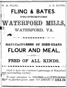 1903-07-03 fling & bates ad for waterford mill (the record)
