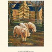 Poster-Sheep on Second Street