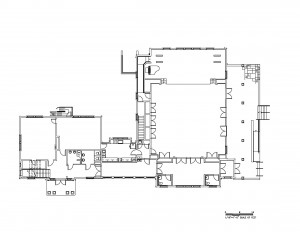 Old School Floor Plan - both bldgs.