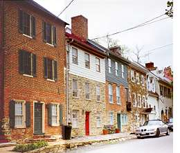 The houses of Arch Row.