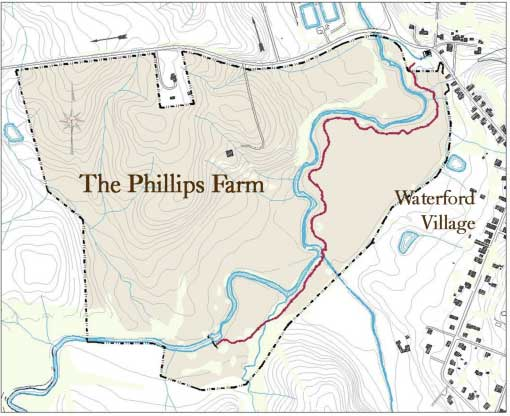 Phillips Farm interpretive trail in Waterford VA