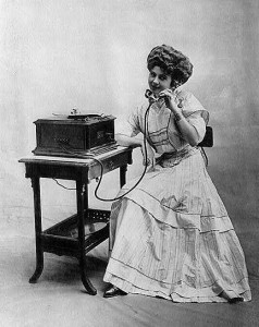 telephone girl Gibson