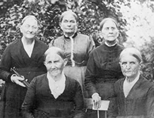 Quaker Women Fairfax Meeting August 1891