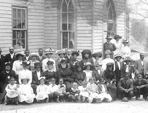 John Wesley Church congregation c 1910