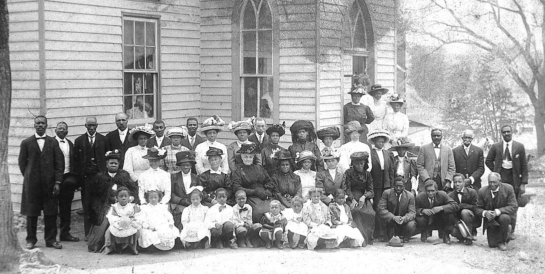 John Wesley Church congregation c 1910 (JPEG)