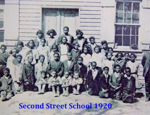 Second Street School Class 1920