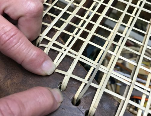 Introduction to Hand Woven Cane
