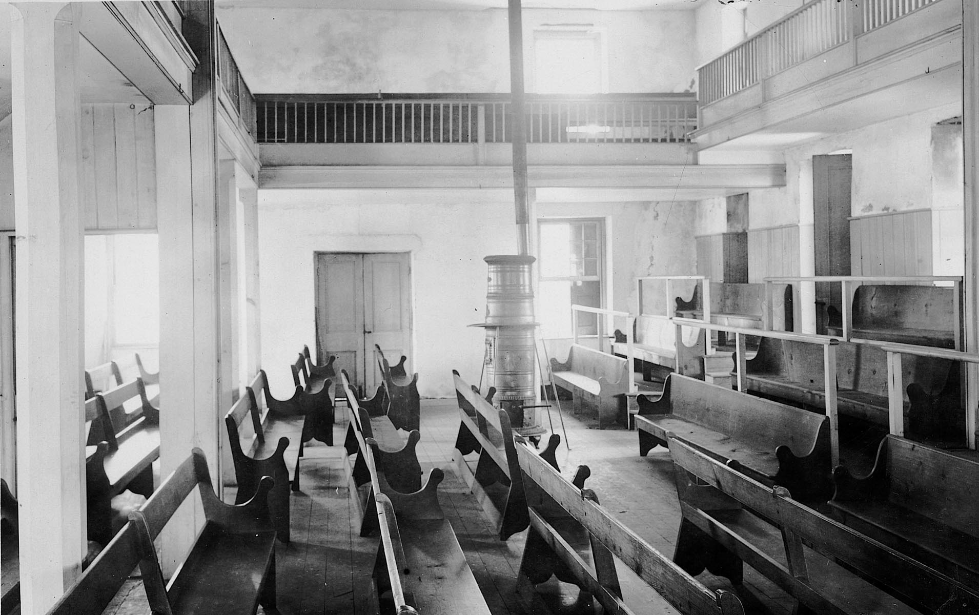 Quaker Meeting House Interior