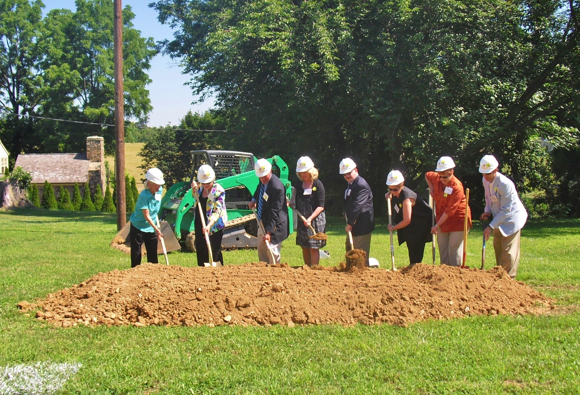 New Old School Auditorium Groundbreaking